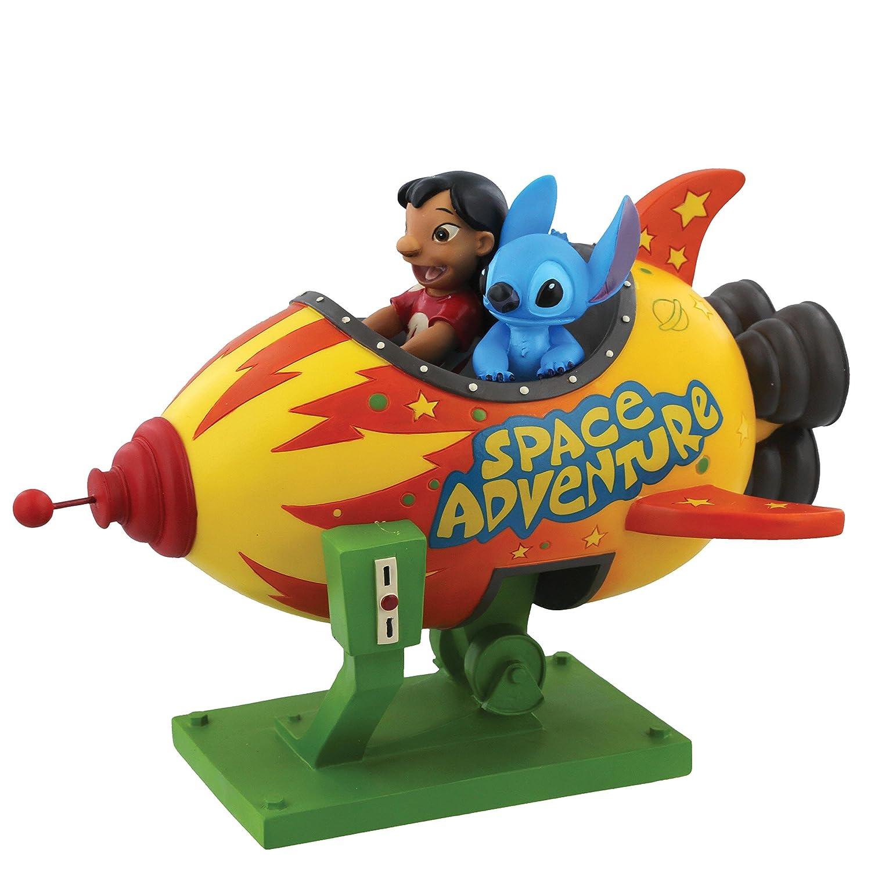Enchanting Disney Space Adventure-Lilo & Stitch Figurine, Resin, Multicolour, 16 x 20 x 14.5 cm