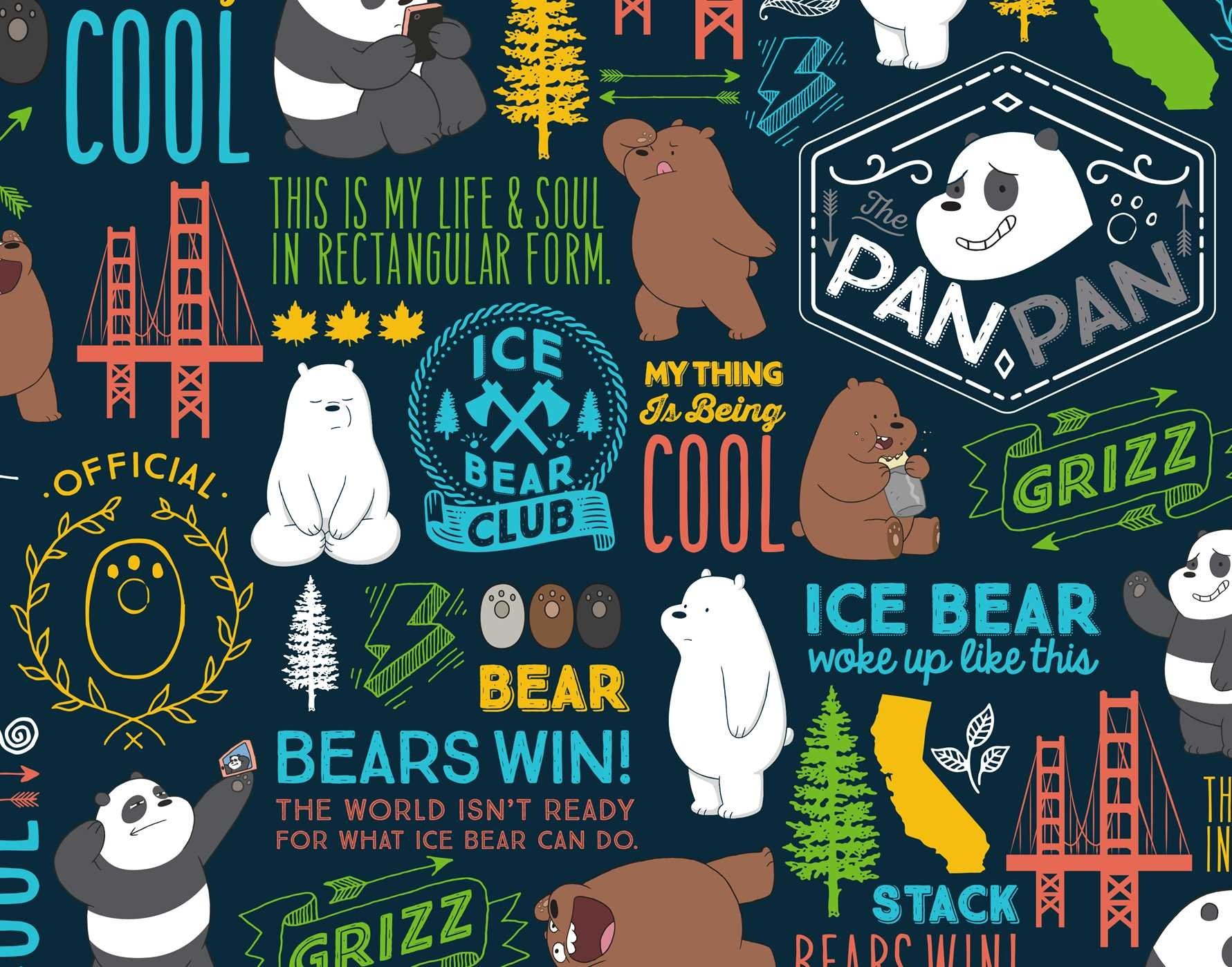 Amazon Com We Bare Bears Hardcover Ruled Journal 9781683835028 Insight Editions Books