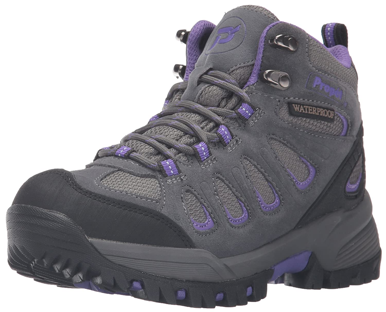 Propet Women's Ridgewalker Boot B01CYSRVUM 6.5 B(M) US|Grey/Purple