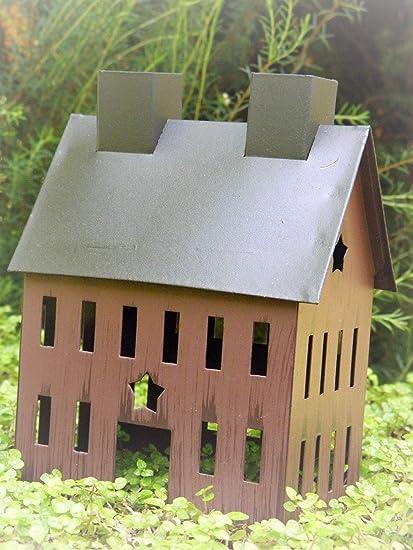 Amazon.com: Miniatura jardín rústico burdeos estrella ...