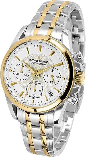 Jacques Lemans 1-1752F - Reloj para mujer de acero inoxidable: Amazon.es: Relojes
