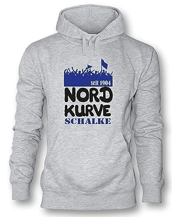 Angry Shirts Nordkurve Schalke - Herren Hoodie