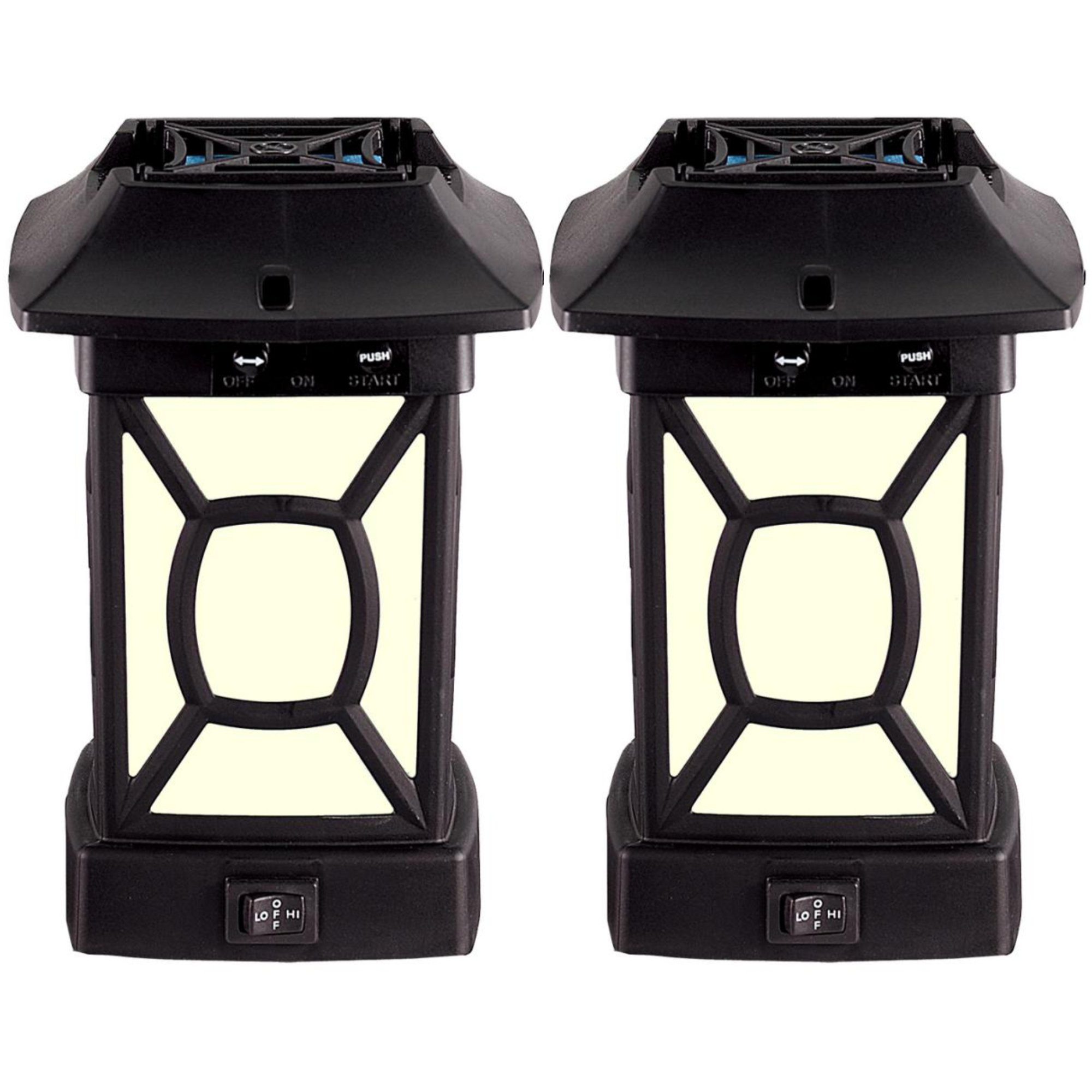 Thermacell Outdoor Mosquito Repeller Plus Lantern, Cambridge Patio Shield, 2-Pack by Thermacell (Image #1)