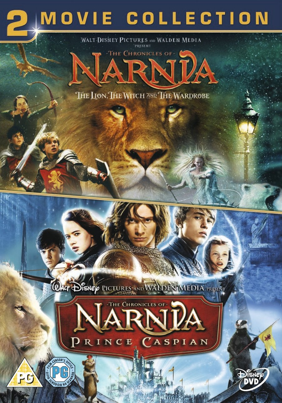 chronicles of narnia the lion the witch and the wardrobe prince chronicles of narnia the lion the witch and the wardrobe prince caspian dvd amazon co uk georgie henley skandar keynes william moseley
