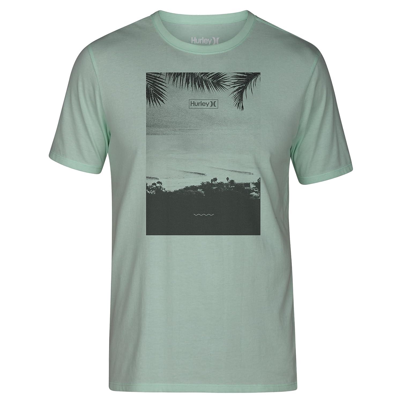 Amazon Hurley MTS Men s Peninsula T Shirt Mint Foam