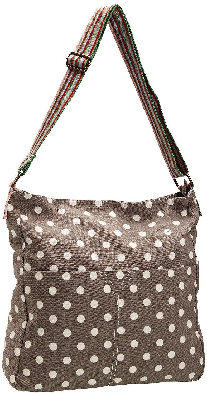 Kukubird Small Polka Dots Crossbody Bag - Grey