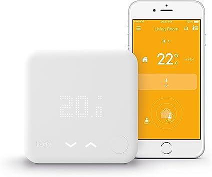 v3 tado/° Termostato Inteligente - control inteligente de la calefacci/ón por geolocalizaci/ón y a trav/és del smartphone versi/ón Alemania Kit de Inicio