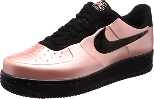 Nike Scarpe Uomo Sneaker AF1 Foamposite PRO Cup in Pelle Corallo AJ3664 600
