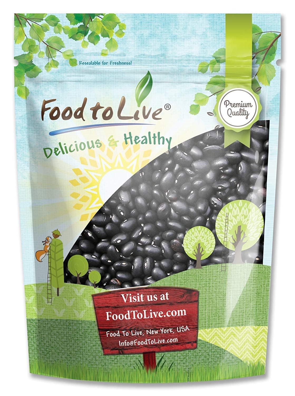 Black Turtle Beans, 3 Pounds - Dried, Bulk, Kosher