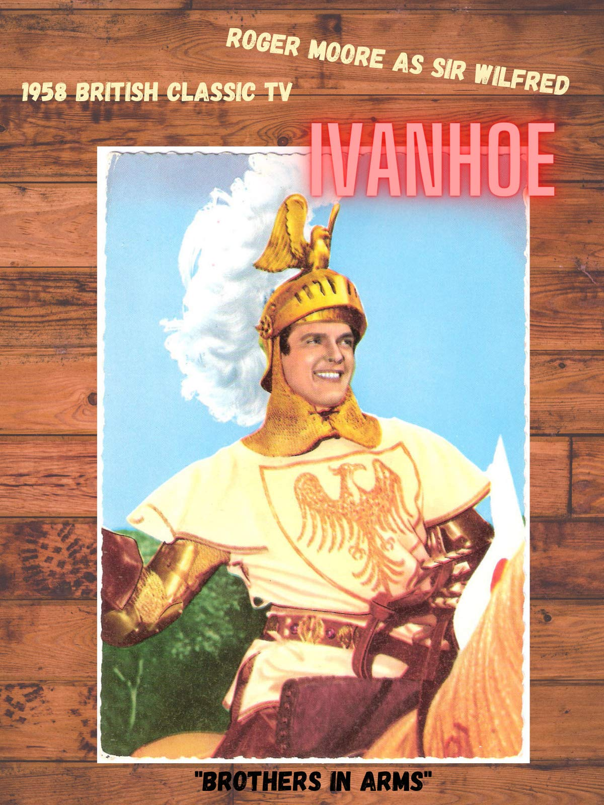 British 1958 TV Series Ivanhoe Brothers in Arms episode starring Roger Moore