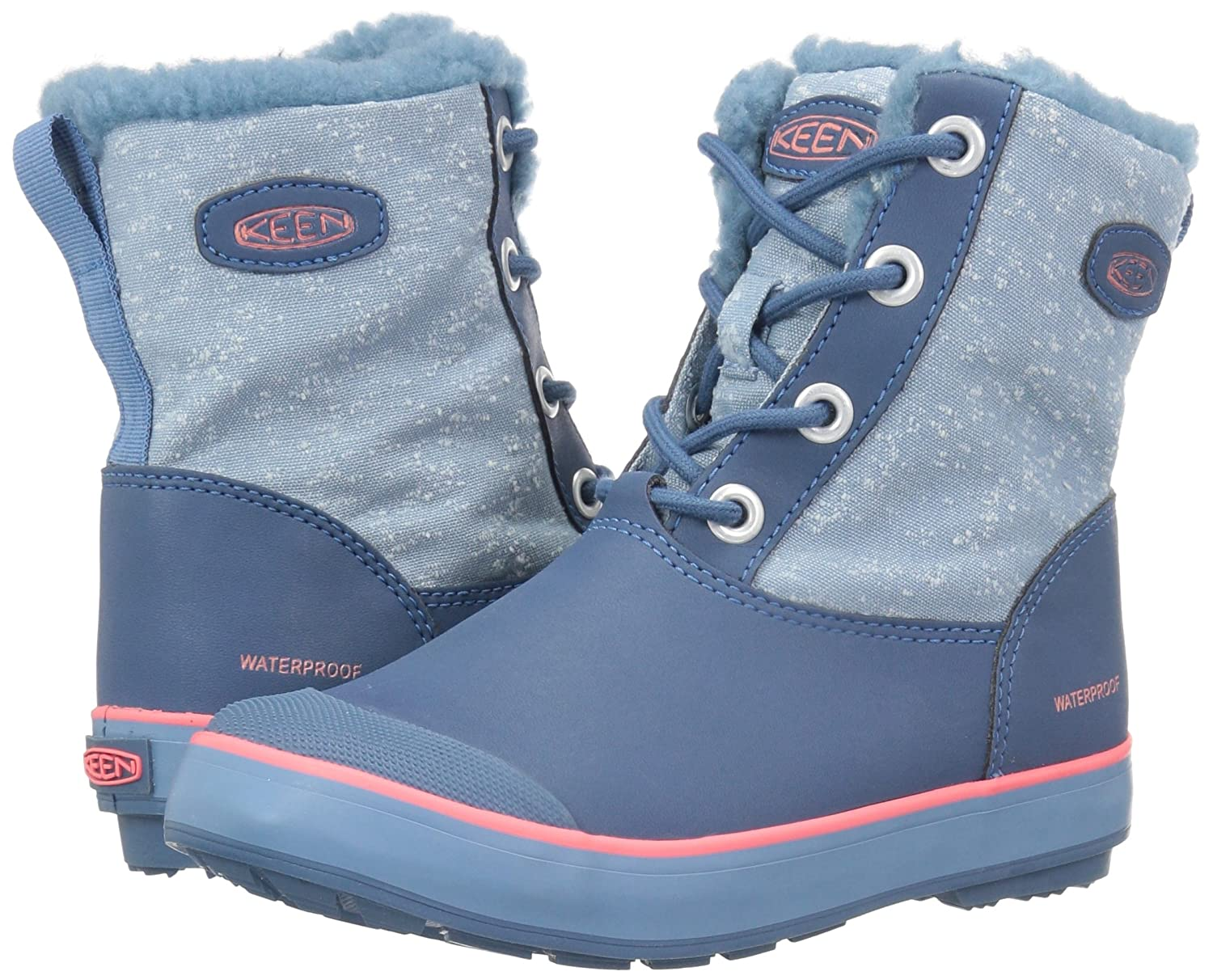 Amazon.com | KEEN Kids\' Elsa WP Fashion Boot | Boots