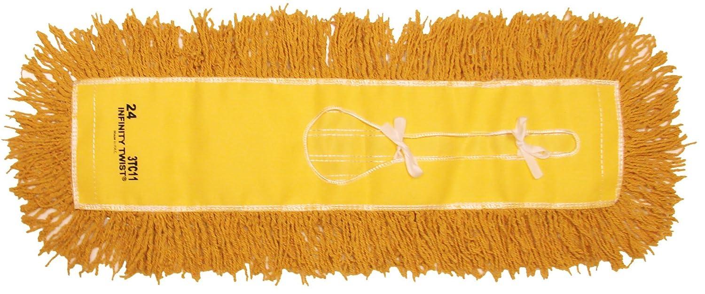 Pack of 12 Golden Star AJU30PY Jumbo Infinity Twist Dust Mop Head