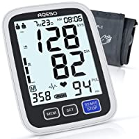 AQESO Blood Pressure Monitor Upper Arm with Large Cuff 9