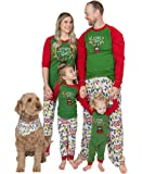 Lazy One Christmas Pajama Set, Matching Family Pajamas for Adults, Kids, and Infants