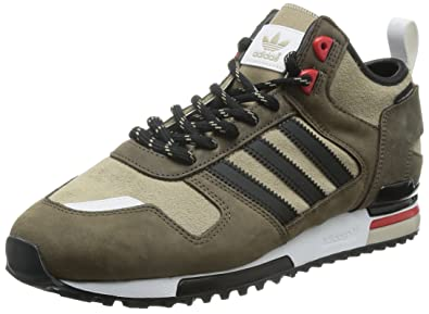 d6c97c9a5bf51 adidas - ZX 700 Winter CP - B35233 - Color: Beige-Black-Brown - Size ...