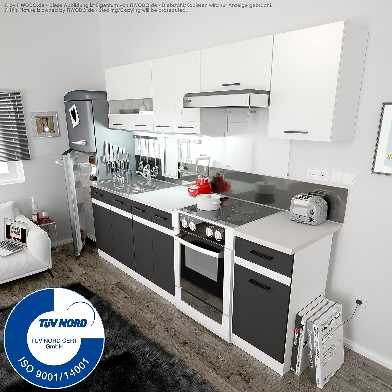 Einbauküche - FIWODO Set Junona Line 240 - mit Vollauszug!! - 4 ...