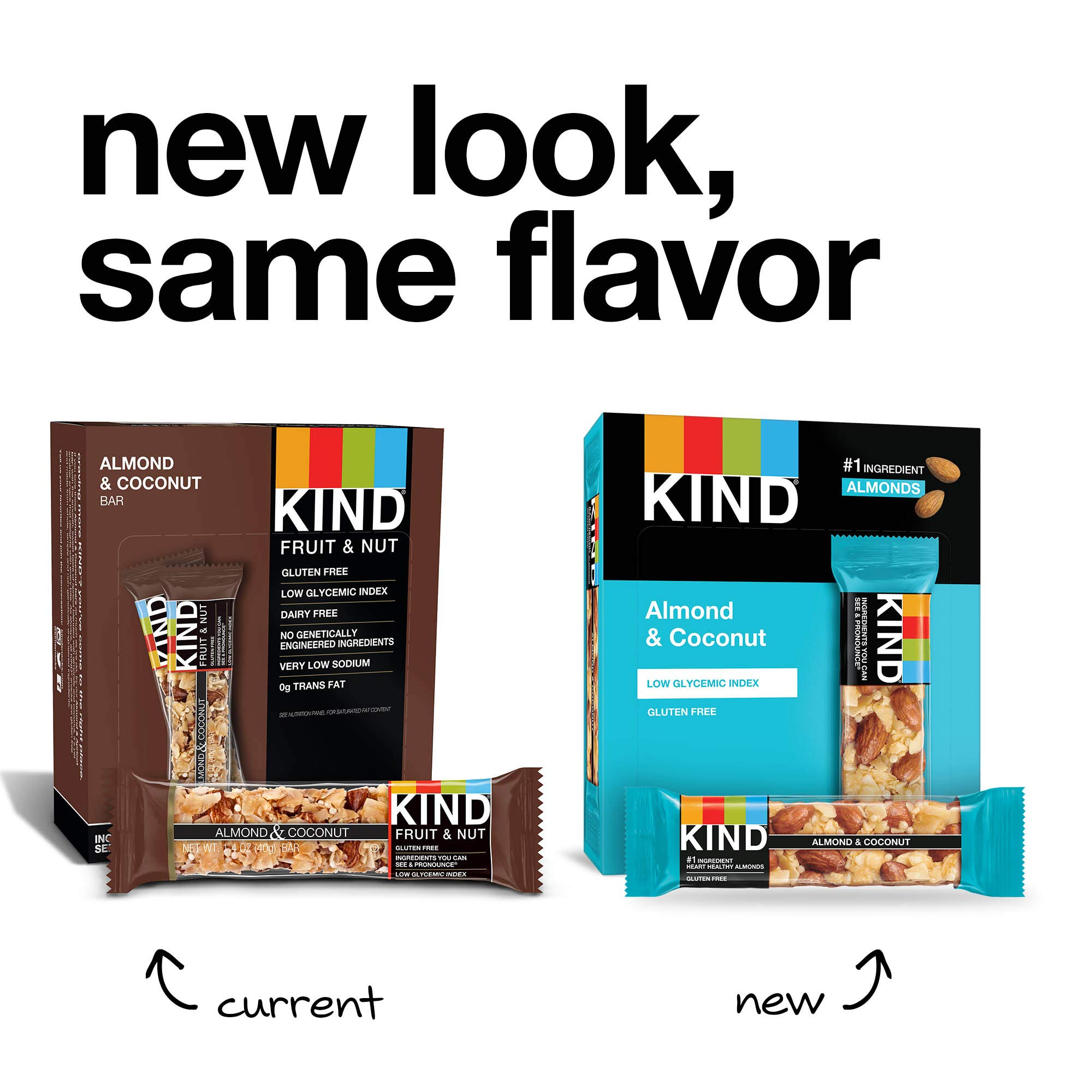 KIND Bars, Almond & Coconut, Gluten Free, 1.4oz, 12 Count by KIND (Image #4)