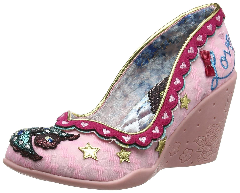 TALLA 39 EU. Irregular Choice Love Nest - Zapatos de tacón con Punta Cerrada Mujer