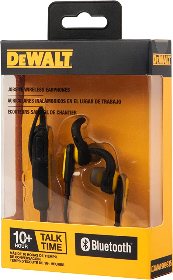 DEWALT Jobsite Wireless Earphones: Amazon.es: Electrónica