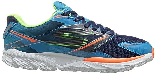 Skechers Go Run Ride 4, Zapatillas de Deporte Hombre, Azul/Naranja (Blue/Orange), 46: Amazon.es: Zapatos y complementos