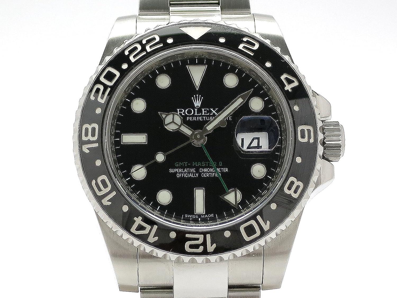 (ロレックス) ROLEX 腕時計 GMTマスター2 SS 116710LN(V) 中古 B07F3WLXM2