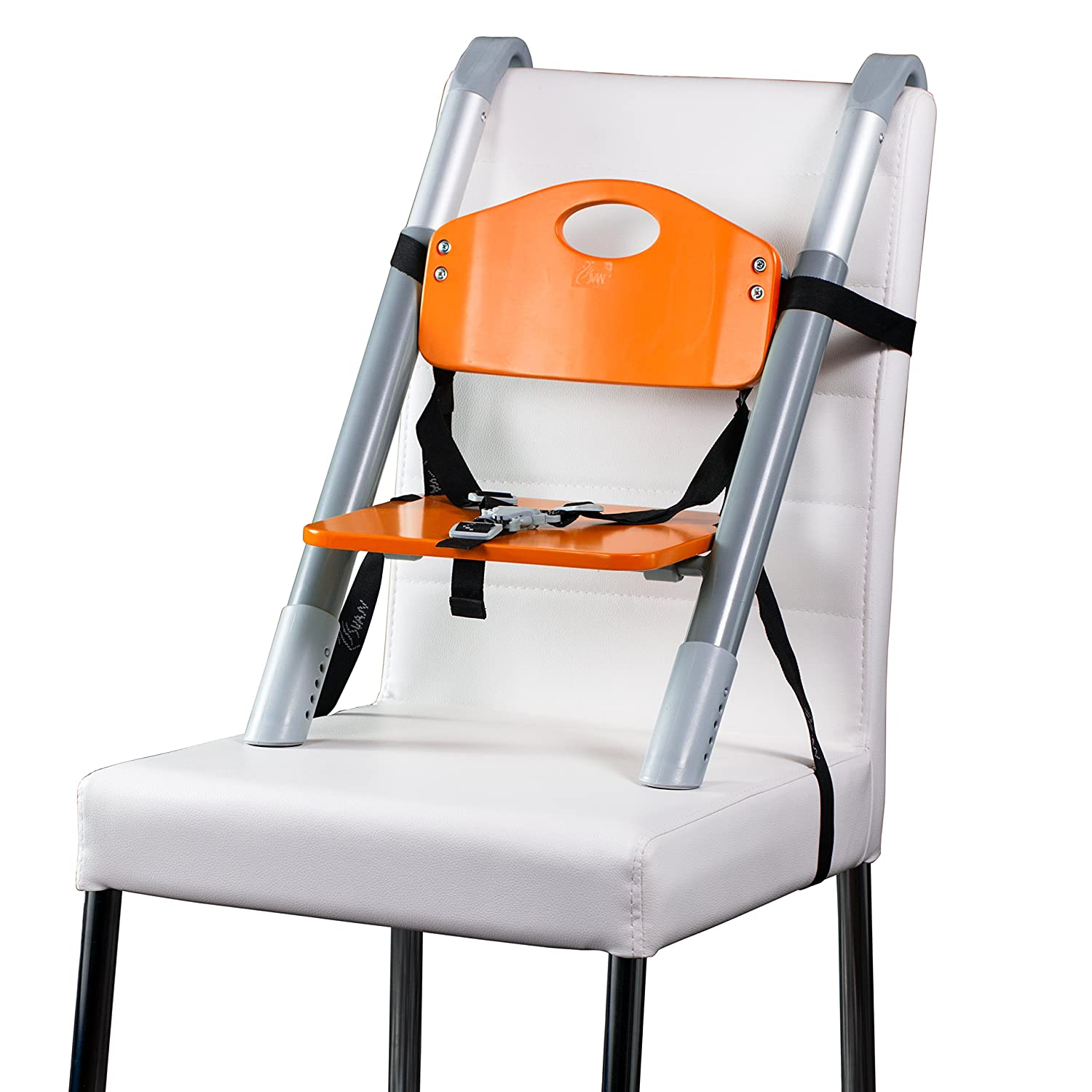 Svan Lyft High Chair Booster Seat 18 Mo to 5 Yrs Adjusts Easily to Most Chairs Lime Booster Seat