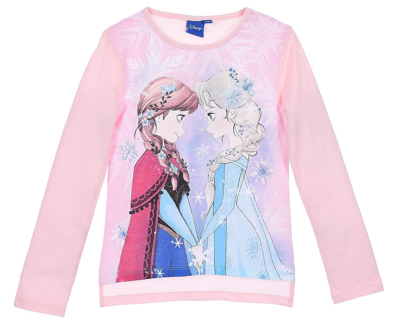 Frozen Bambina Maglietta a Maniche Lunga