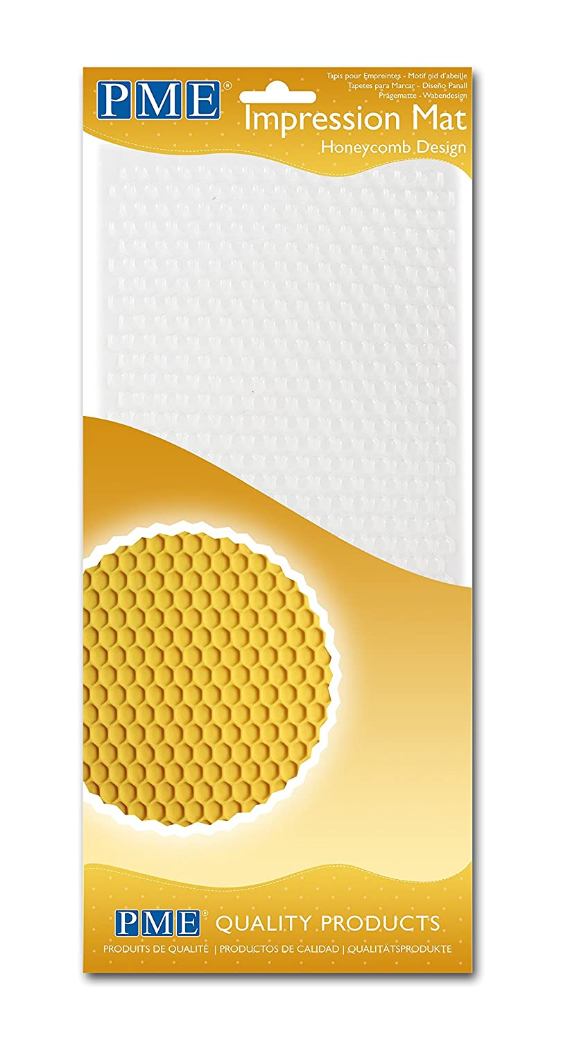 Amazon.com: PME Honeycomb Design Impression Mat, One Size, Transparent: Kitchen & Dining