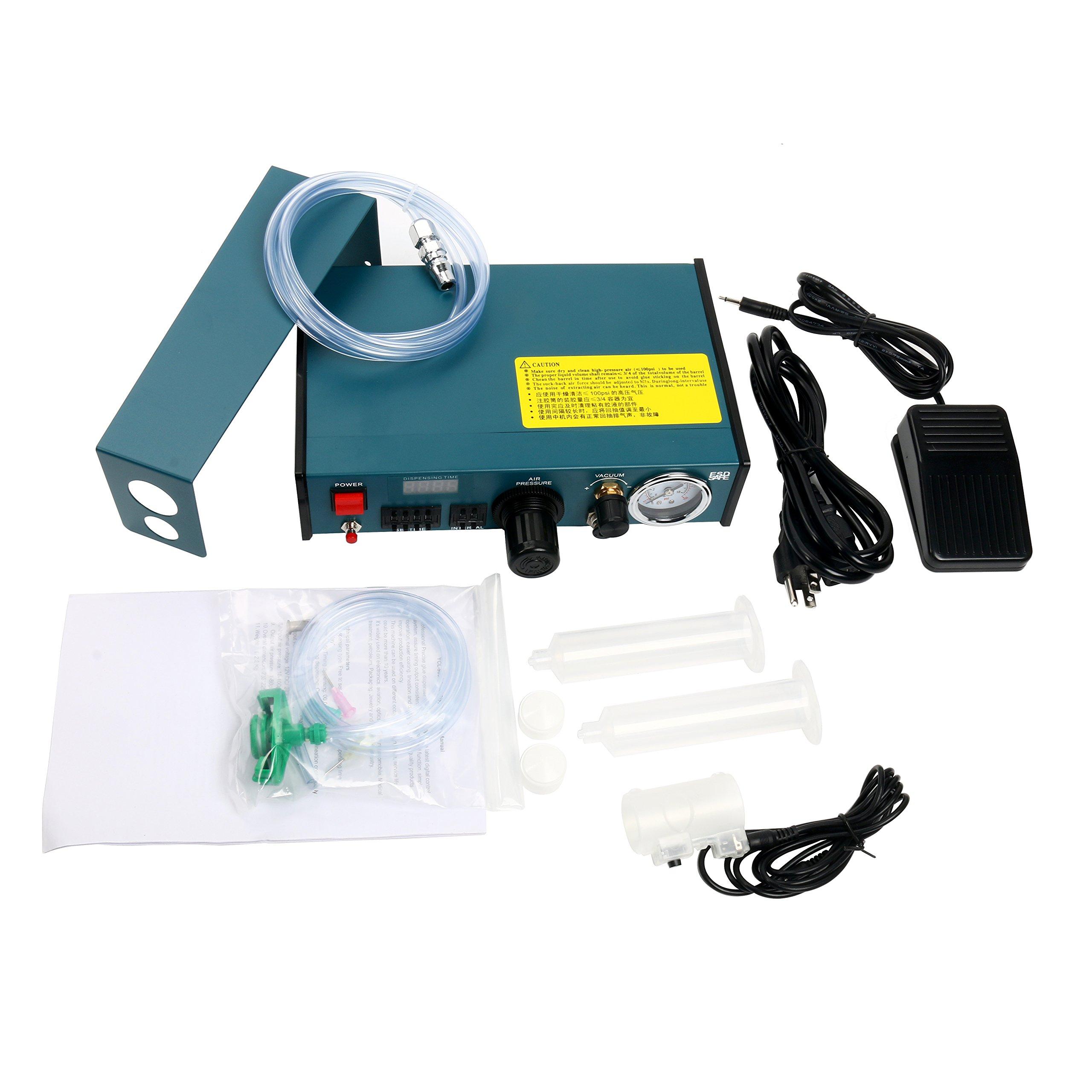 Digital Display Auto Glue Dispenser Solder Paste Liquid Controller Dropper 983A by YaeCCC (Image #2)
