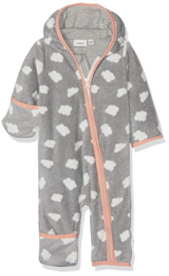 NAME IT NBFMABEL Fleece Suit Traje para la Nieve, Grey ...