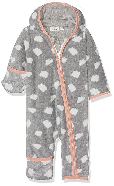 NAME IT Nbfmabel Fleece Suit Traje para la Nieve para Bebés ...