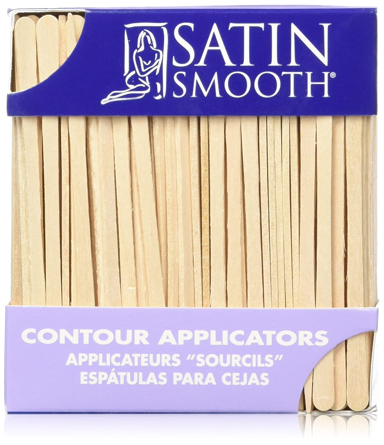 SATIN SMOOTH Contour Applicators 200 Count SSWA13