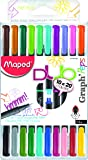Maped MPD-749251 20 Color Graph 'Peps Felt Tip Fineliner Pens
