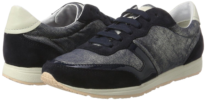 Geox D Damen D Wisdom D Geox Sneakers Blau (Denim/Navyc4192) 3ac31c