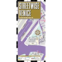 Streetwise Venice Map - Laminated City Center Street Map of Venice, Italy (Michelin Streetwise Maps)
