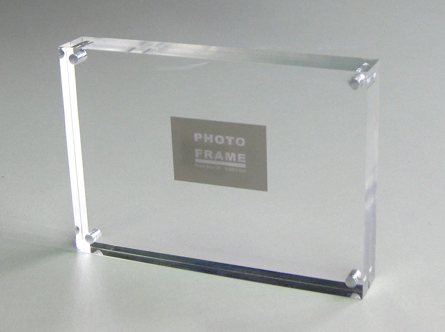 Amazon.com - Clear Acrylic Perspex Photo & Pictures Frames with ...