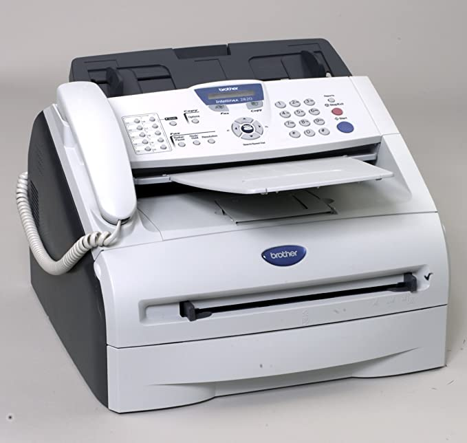 amazon com brother intellifax 2820 laser fax machine and copier rh amazon com brother fax 2920 user manual Brother 2920 Drum