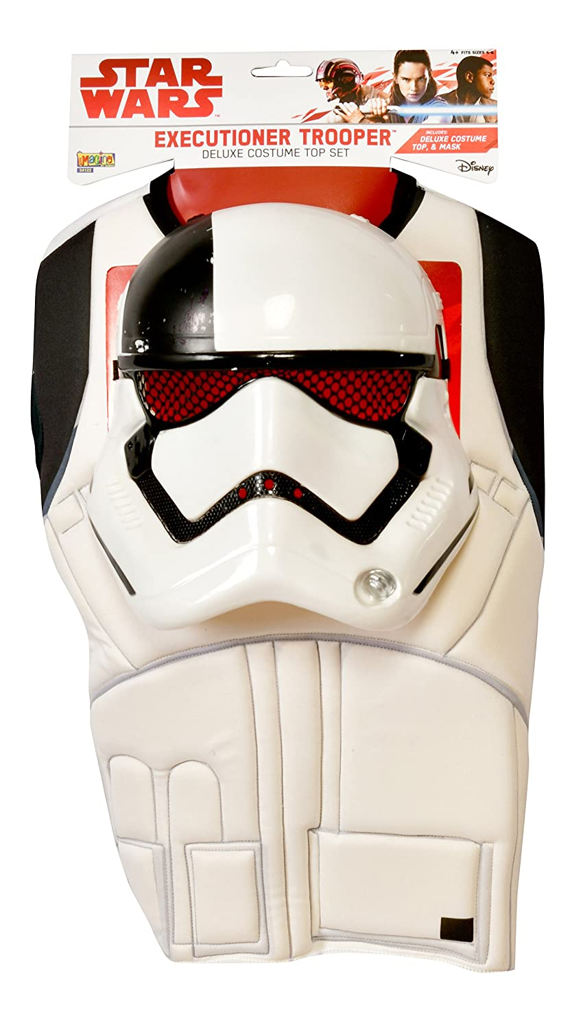 The Last Jedi Executioner Trooper Costume Top and Mask Imagine by Rubies G34122 Star Wars Episode VIII Imagine by Rubies