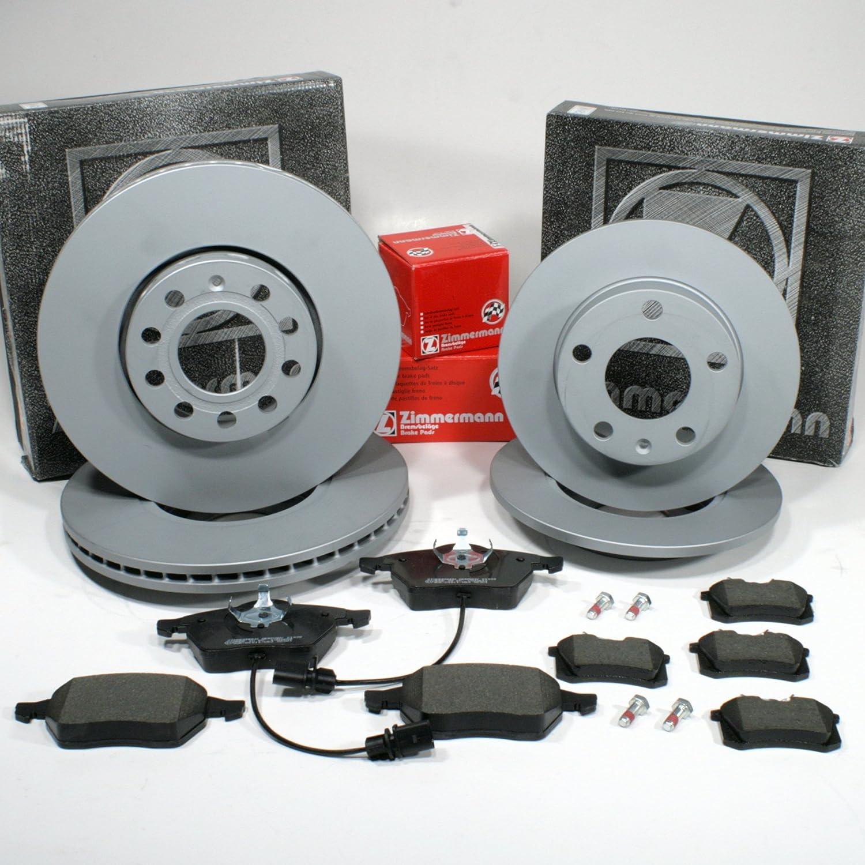 Avant PR 1KD Bremsbeläge hinten Audi A4 B6 Zimmermann Sportbremsscheiben