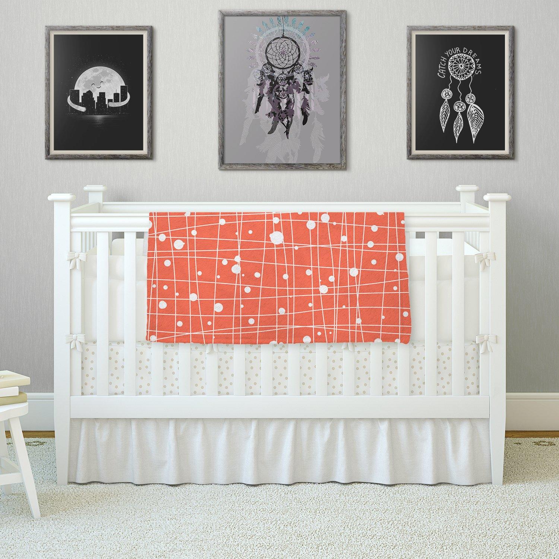 KESS InHouse Budi Kwan Woven Web Fleece Baby Blanket 40 x 30