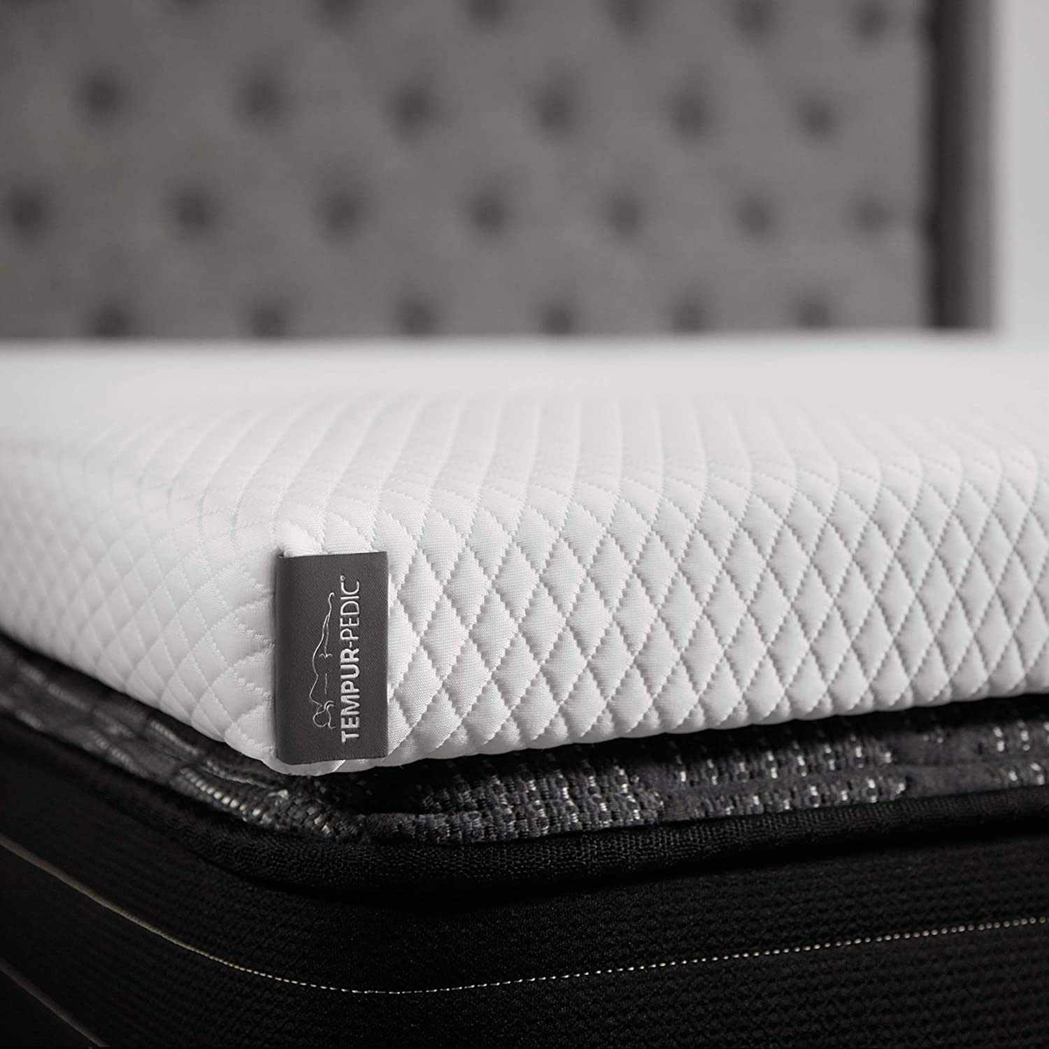 TEMPUR-Adapt + Cooling 3-Inch Full Mattress Topper, Soft Luxury Premium Foam, Washable Cover