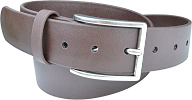 Indestructible Vegan Belt, Genuine Non Leather Belt with Italian Belt Buckle, Dress Belt for Men Made with Environmentally Friendly Material Fused
