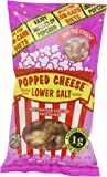 Just the Cheese Popped Cheese, Lower Salt Flavor, 1.7-Ounce Bags (Pack of 6)