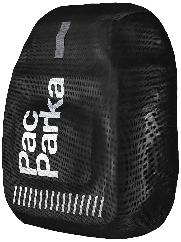 Black Backpack Rain Cover BikeParka Pac Parka Color Ink