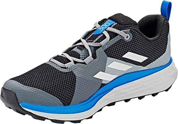 Adidas Terrex Two, Trail Running Shoe Mens, Core Black Grey One F17 Glory Blue, 32 EU: Amazon.es: Zapatos y complementos