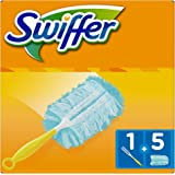 Swiffer Duster Kit with Handle + 5 Feather Dusters