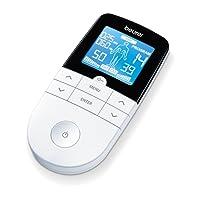 Beurer EM 49 Digital TENS/EMS elektrische Nerven und Muskelstimulation, 132 x 63 x 23 mm