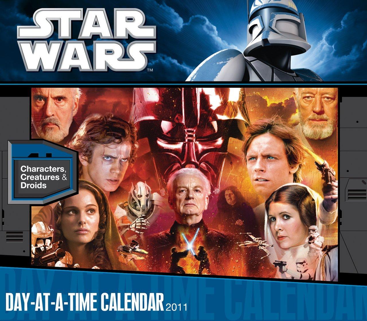 Download Star Wars The Saga 2011 Box Calendar pdf epub