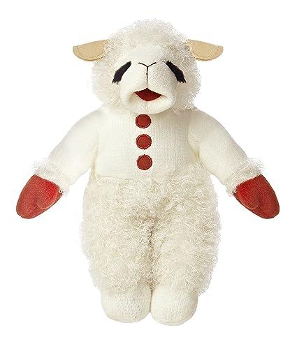 Amazon Com Aurora World Plush Lamb Chop With Sound 12 Toys Games