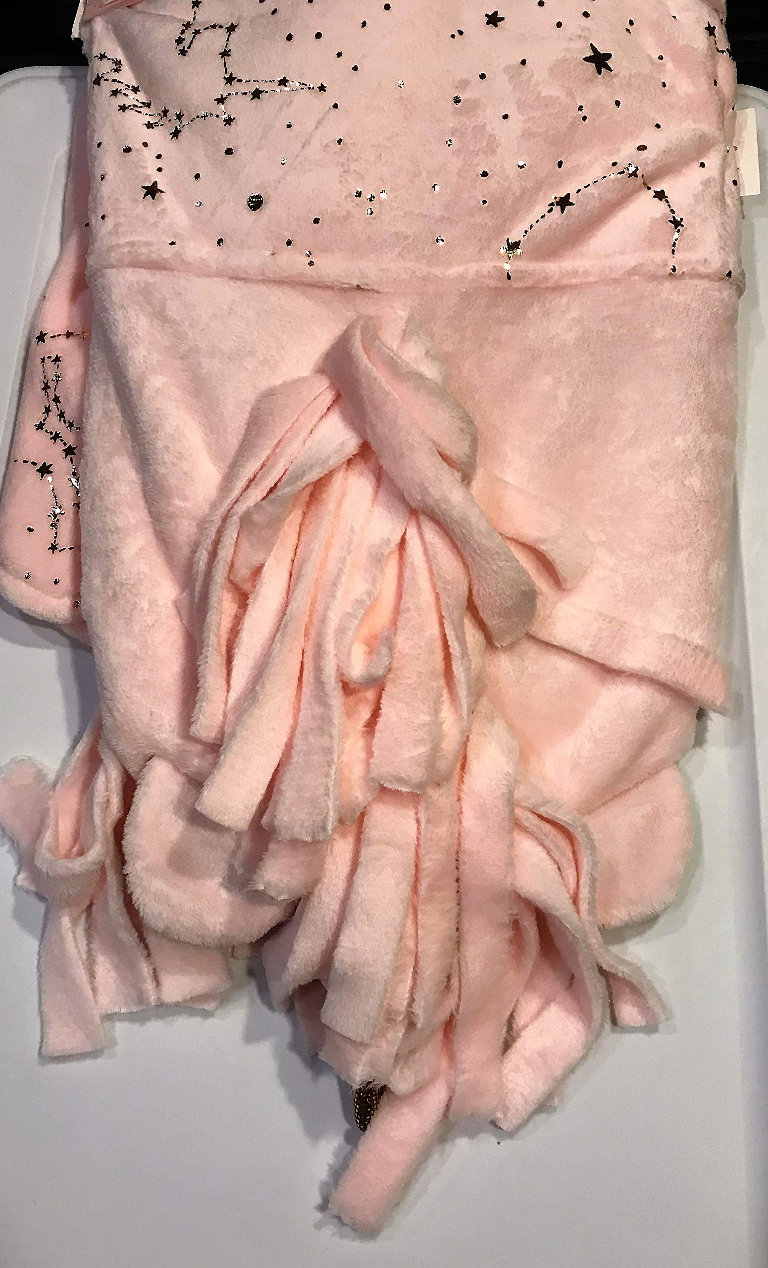 Limited Edition Blankets Nicole Miller Home Kids Soft & Cozy Pink Hooded Blanket (Pink)